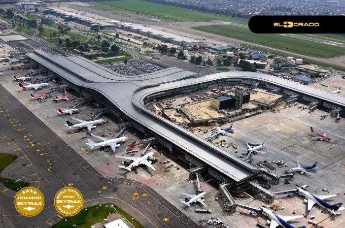 Aeropuerto el dorado en bogot y su conexi n con puente a reo - Vuelos puerto asis bogota ...